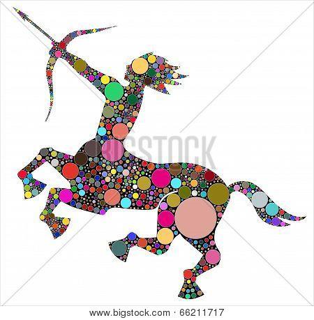 Sagittarius, the astrological symbol