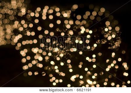 Christmas Or Holiday Lights Effects Sparkling Sequins