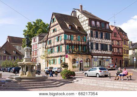 Colmar Cityscape. Alsace, France