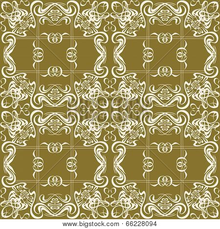Flourish Seamless Pattern