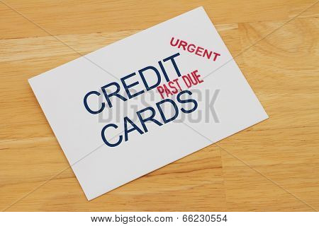 Credit Card Payment Past Due
