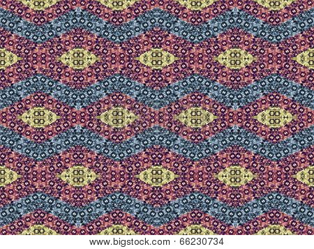 Rhomboid Colorful Pattern