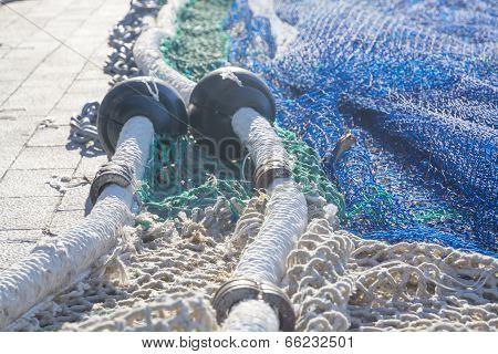 Fishnet closeup