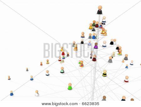 Cartoon Crowd, Treetop