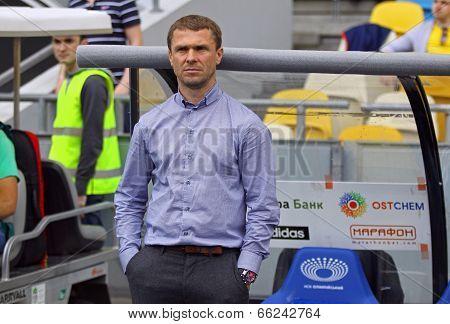 Fc Dynamo Kyiv Manager Serhiy Rebrov