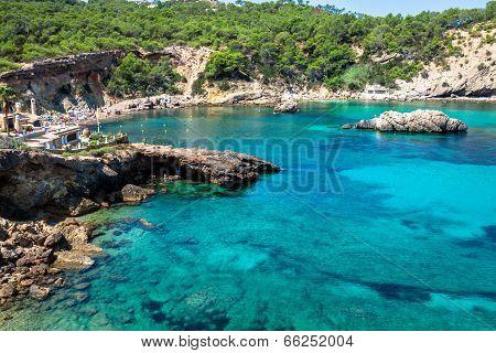 Ibiza Punta De Xarraca Turquoise Beach Paradise In Balearic Islands