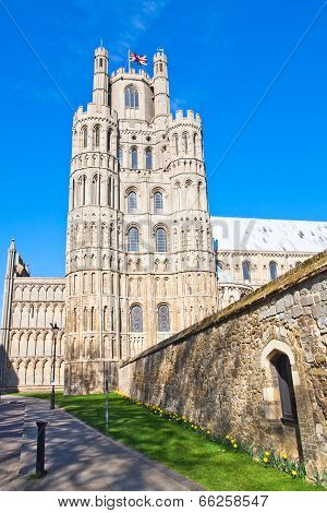 Ely Cathedral Early Spring, Bank Holidays