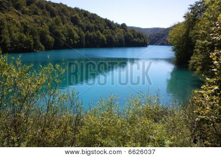 Beautiful nature of Plitvice