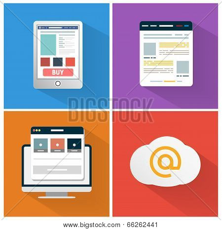 Modern App Icon Of Browser Business Concept