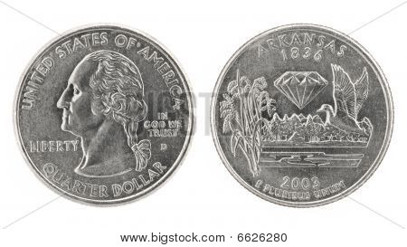 Quarter Dollar Kansas