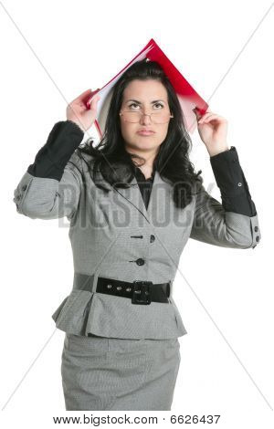Businesswoman Teacher Woman Busy Upset