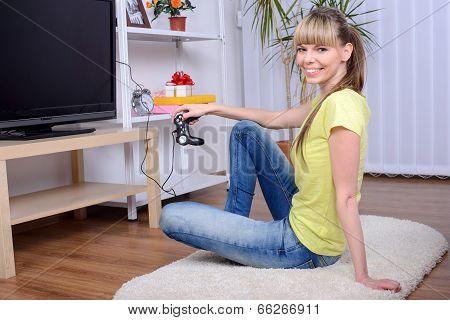 Woman At Home
