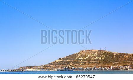 The Mountain In Agadir, Morocco