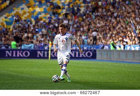 Vladyslav Kalytvyntsev Of Dynamo Kyiv
