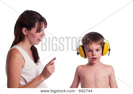 I Cant Hear You  Mom