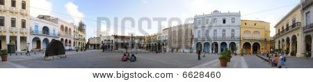 "Old Havana ""plaza Vieja"" Panorama, Cuba. November 2008"