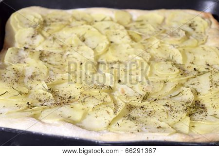 Pizza With Potatoes