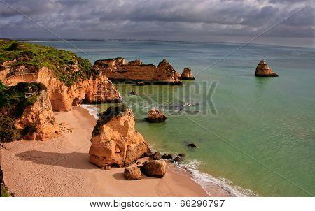 Dona Ana Beach, Lagos, Portugal