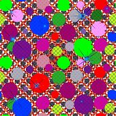foto of terrazzo  - Ornate seamless texture in a square tile - JPG