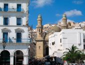 stock photo of algiers  - mosque at Algiers capital city of Algeria country  - JPG