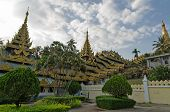 stock photo of yangon  - Buddhist shrine - JPG