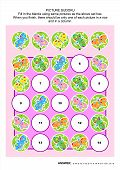 ������, ������: Picture sudoku puzzle with butterflies