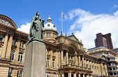 image of west midlands  - Statue of Queen Victoria with the Council House to the rear Victoria Square Birmingham West Midlands England UK Western Europe - JPG