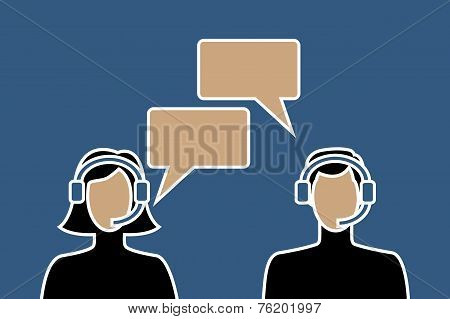 Call center avatars