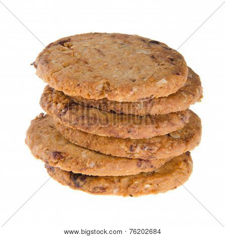 Cookies, Homemade Cookies On Background