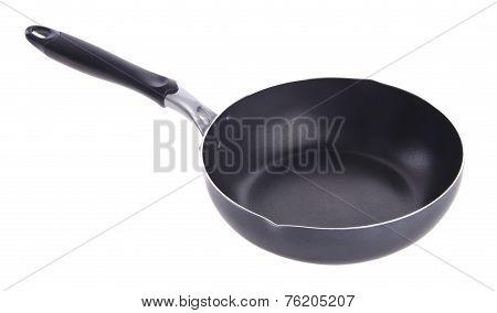 Pan, Metal Frying Pan, On Background