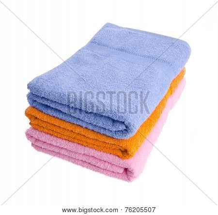 Towel, Towel On Background.
