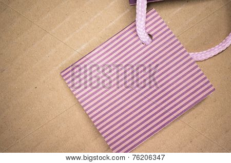 Colored Stripes Cardstock