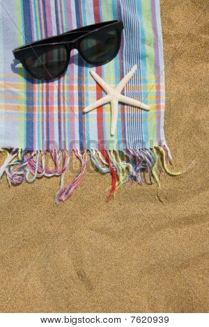 Beach Towel Still Life