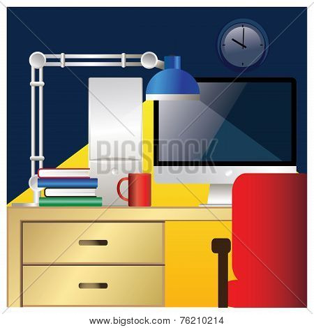 Desktop Workstation Colorful