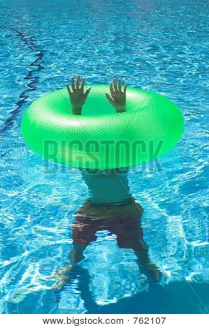 rubber floater
