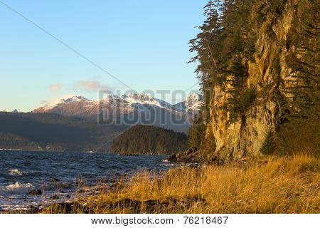Fritz Cove On Douglas Island In November