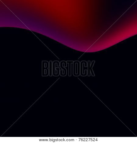 Abstract Black Background - Dark Soft Purple Presentation Backdrop Design - Oil Spill Illustration -
