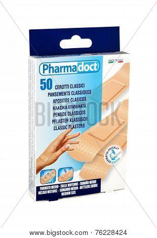 Classic Plasters Pharmadoct 50 Pcs