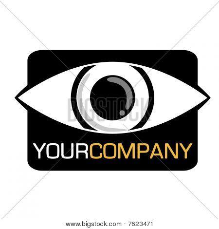 Vector eye logo