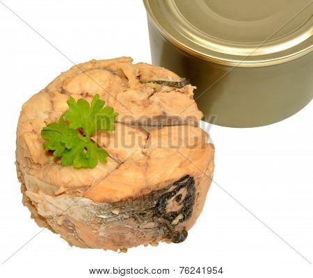 Canned Atlantic Salmon Meat