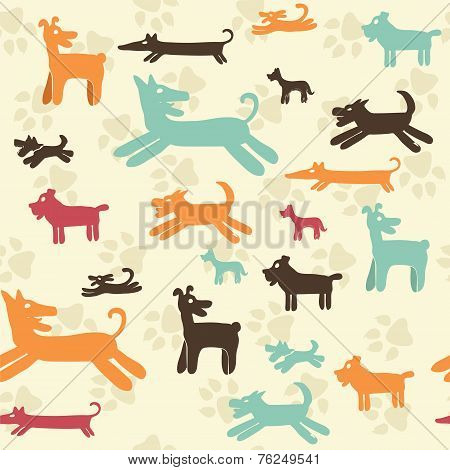 Dog Pattern - Illustration