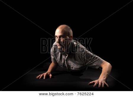 Crawling Man
