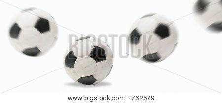 soccer ball bouncing