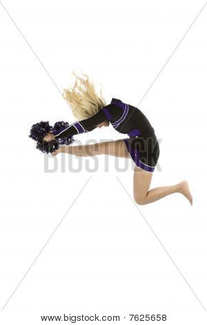Cheerleader In The Air