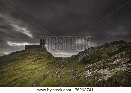 Brentor Church Dartmoor Devon Uk