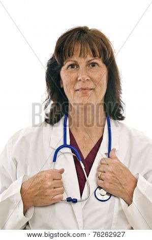 Cheerful Female Doctor
