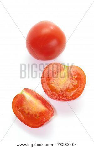slice cherry tomato