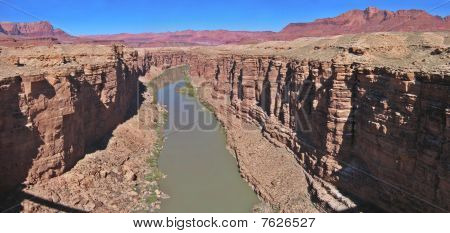 Navajo bridge view