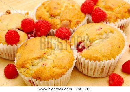 Homemade Raspberry Muffins