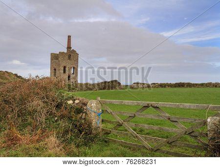 Levant Tin Mine In Cornwall